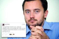 Latvijas 'Twitter' līderu pirmie tvīti