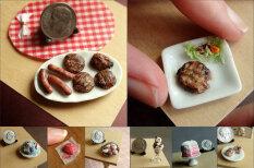 Потрясающе реалистичные миниатюры еды, сделанные из глины, старания и мелков