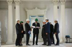 Президент Латвии Раймонд Вейонис посетил свой новый дом