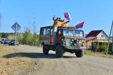 Kā Uzvaras dienu šogad svinēja attālā Krievijas sādžā