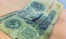Atskats vēsturē: kāda bija ASV dolāra un PSRS rubļa valūtas attiecība