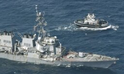 Пропавшие моряки эсминца ВМС США найдены погибшими