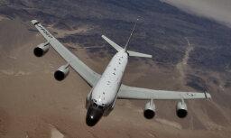 Самолет ВВС США провел разведывательный полет вблизи границ РФ на Балтике