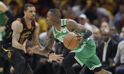 'Cavaliers' basketbolisti izcīna pirmo uzvaru sērijā pret 'Celtics'