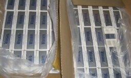 Германия: таможенники нашли в фуре из Латвии более 8,5 млн. контрабандных сигарет