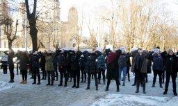 Cтуденты и преподаватели РАПУО выстроятся в живую цепь у здания правительства