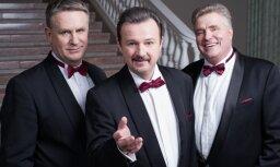 Trīs Latvijas tenori ar lielkoncertu svinēs 20 gadu jubileju