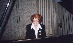 95 gadu vecumā mūžībā aizgājusi latviešu pianiste Vilma Cīrule