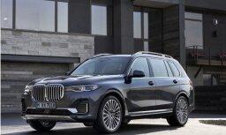 BMW oficiāli atklājis savu vislielāko sērijveida apvidnieku 'X7'