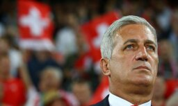 Šveices futbola izlases treneris: Latvija ir labi sagatavota, kompakti spēlējoša komanda