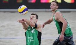 Latvijas pludmales volejbolisti veiksmīgi sāk PK posmu Irānā