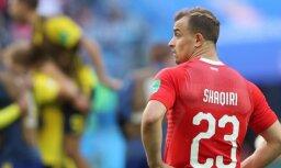 """Šveices izlases pussargs Šaķiri pievienojas """"Liverpool"""" komandai"""