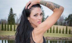 Foto: Štromberga māsa Ilze kļuvusi par fitnesa daiļavu