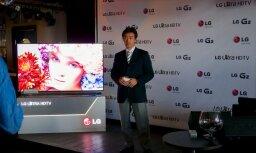 'LG' Latvijā prezentē jaunākās ierīces - viedtālruni, planšetdatoru un televizorus