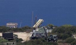 Izraēlas pretraķešu sistēma pārtver šāviņus no Sīrijas pār Golānas augstienēm