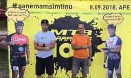 Pirmo reizi Latvijā kalnu divriteņu maratona dalībnieki mēģinās pieveikt 100 kilometru distanci