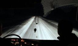 Naktī no sestdienas uz svētdienu daudzviet kritīs slapjš sniegs