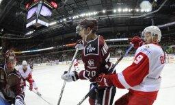 Foto: Rīgas 'Dinamo' 17. zaudējums sezonā