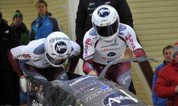 Latvijas bobsleja divnieki paliek ārpus labāko trijnieka Eiropas čempionātā