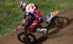 Jonasam piektā vieta pasaules motokrosa čempionāta posma kvalifikācijā