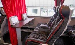 Foto: 'Lux Express' izrāda jaunos autobusus