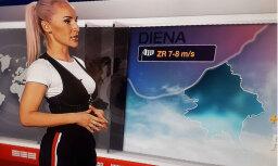 Maija Rozīte-Krištopane TV ēterā pārsteidz ar stilu
