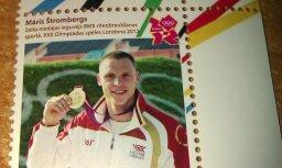 Pastmarkas ar olimpiešiem izķer kā karstus pīrādziņus
