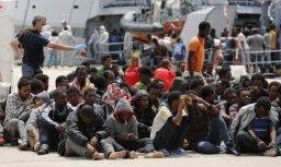 Служба береговой охраны Италии за сутки спасла 6 500 мигрантов у берегов Ливии