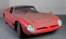 Foto: 1,4 miljoni par 60. gadu 'Bizzarini 5300 Strada' vienīgo oriģinālo eksemplāru