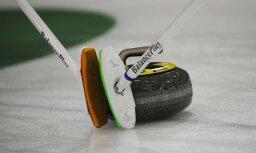 Latvijas kērlingisti turpina cīņu par vietu olimpiskajās spēlēs