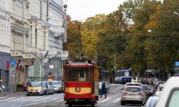 Трамвай в Риге