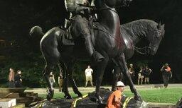 В Балтиморе снесли памятники конфедератам