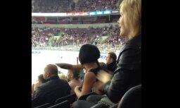 Aculiecinieki atkal novēro 'burvi' Rīgas 'Dinamo' spēlē
