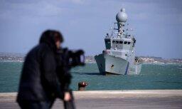 Спецоперация в Средиземном море: латвийские пограничники помогли задержать 3 тонны марихуаны