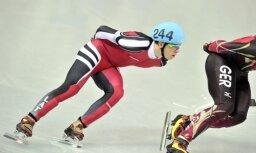 Šorttrekists Puķītis izcīna augsto septīto vietu Pasaules kausa etapā 1000 metru distancē