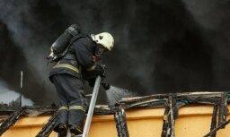За сутки в Латвии произошло 27 пожаров