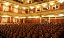 Uzsākta Nacionālā teātra krēslu maiņa un daļēja telpu atjaunošana