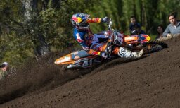 Jonass MX2 čempiona titula aizstāvēšanu sāk ar pārliecinošu uzvaru Argentīnā