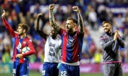 'Levante' pārvelk svītru 'FC Barcelona' cerībām Spānijas čempionāta sezonu noslēgt bez zaudējumiem
