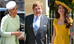 Top 8: Vislabāk ģērbtie karalisko kāzu viesi