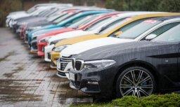 Latvijā janvārī pirmreizējā reģistrācija veikta par 17,2% mazāk vieglo automašīnu