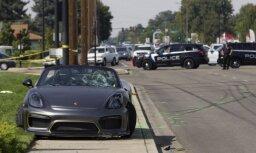 Video: ASV 'Porsche' automašīna šova laikā ietriecas skatītājos; 11 ievainotie