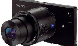 'Sony' oficiāli prezentē 'QX100' un 'QX10' objektīvu tipa fotokameras viedtālruņiem