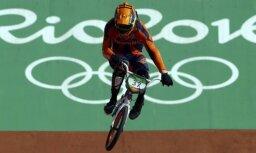 Pēc kritiena komā nonācis Rio olimpisko spēļu sudraba ieguvējs BMX riteņbraukšanā