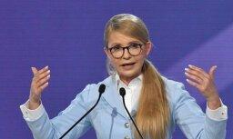 Timošenko paziņo par kandidēšanu Ukrainas prezidenta vēlēšanās
