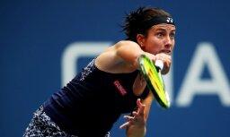 Sevastova dramatiskā cīņā sāpīgi izstājas no 'US Open'