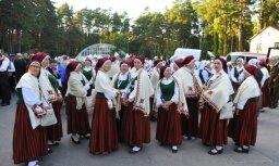Foto: Dziesmu svētku koncerta 'Zvaigžņu ceļā' ģenerālmēģinājums