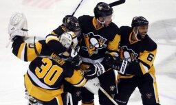 'Penguins' no Stenlija kausa izslēdz regulārā čempionāta uzvarētājus 'Capitals'