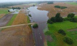 LAD saņēmis 2981 pieteikumu kompensācijām par plūdos cietušajām platībām