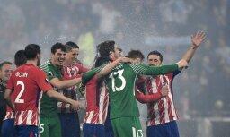 Madrides 'Atletico' trešo reizi vēsturē triumfē UEFA Eiropas līgā
